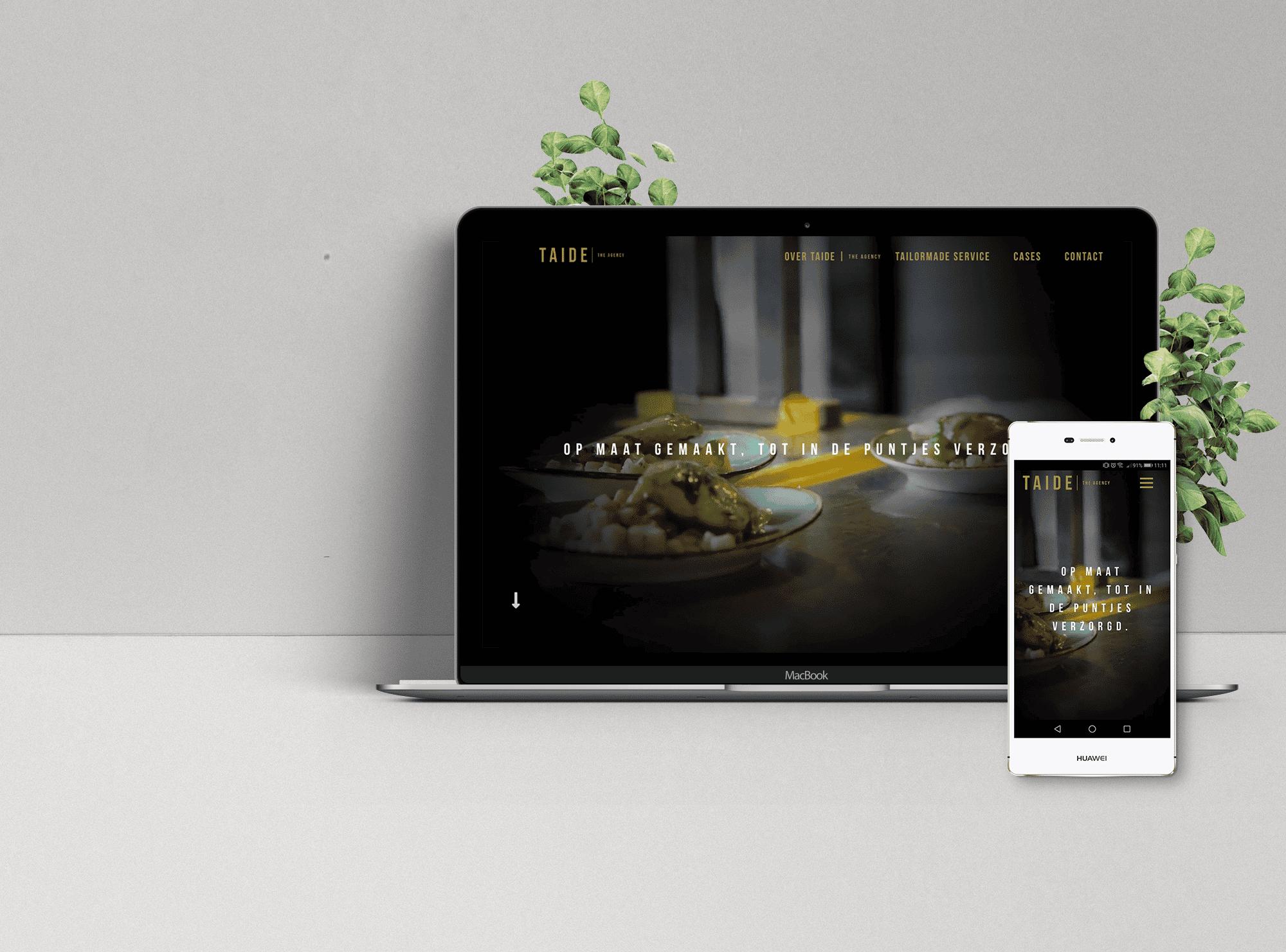 Website Taide Agency   MMC IT Solutions   Websites voor Startups